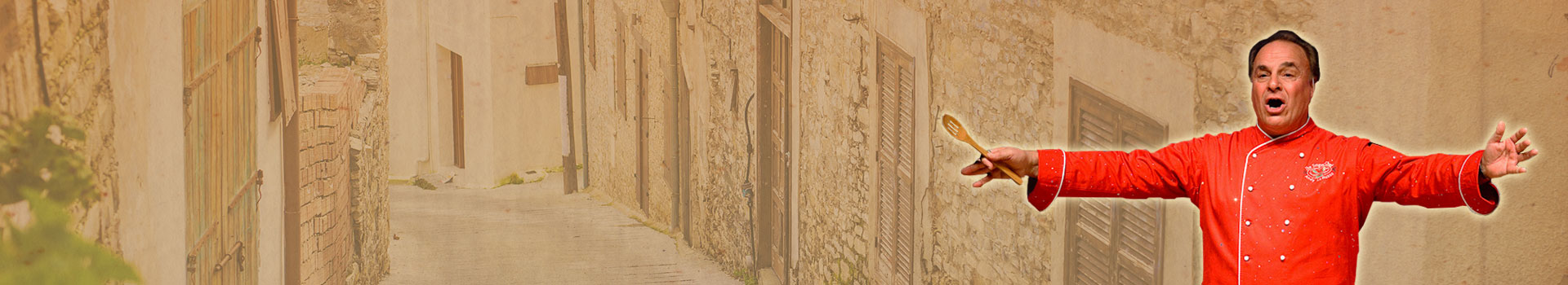 Old Italian street-behind Andy LoRusso