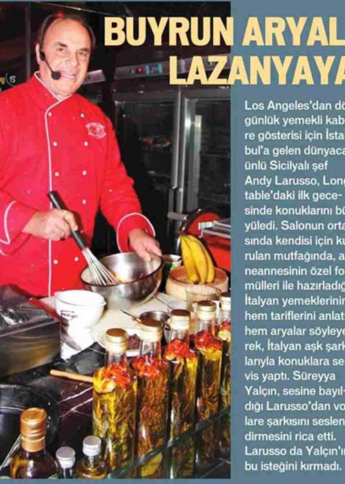 Buyrun Aryali Lazanyaya Los Angeles