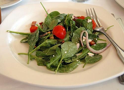 Salad of Arugula, Shaved Fennel Prosciutto Di Parma and Parmesan Cheese