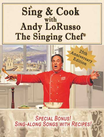 Sing & Cook with Andy LoRusso Book Cover
