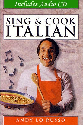 Andy LoRusson New Book COver Sing-Cook-Italian